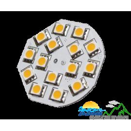 LED G4 PIN TRASERO CIRCULAR 44