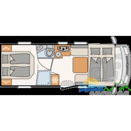 DETHLEFFS TREND I7057 DBL -...