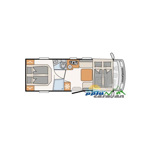 DETHLEFFS TREND I7057 DBL - VENDIDA